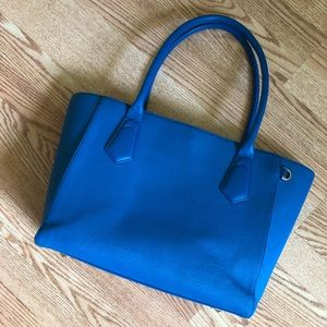 GUC Dagne Dover Classic Tote in Pool Blue